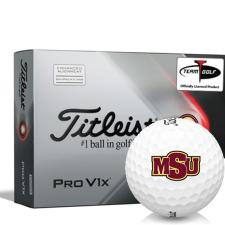 Titleist 2021 Pro V1x AIM Midwestern State Mustangs Golf Balls