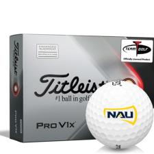 Titleist 2021 Pro V1x AIM Northern Arizona Lumberjacks Golf Balls