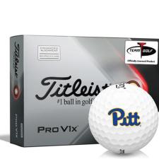 Titleist 2021 Pro V1x AIM Pittsburgh Panthers Golf Balls