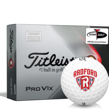 Titleist 2021 Pro V1x AIM Radford Highlanders Golf Balls