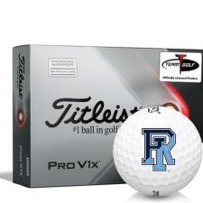 Titleist 2021 Pro V1x AIM Rhode Island Rams Golf Balls