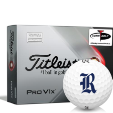 Titleist 2021 Pro V1x AIM Rice Owls Golf Balls