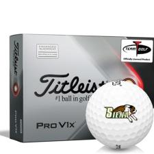 Titleist 2021 Pro V1x AIM Siena Saints Golf Balls