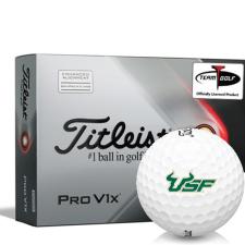 Titleist 2021 Pro V1x AIM South Florida Bulls Golf Balls