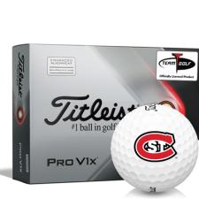 Titleist 2021 Pro V1x AIM St. Cloud State Huskies Golf Balls