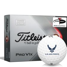 Titleist 2021 Pro V1x AIM US Air Force Golf Balls