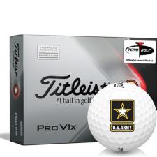 Titleist 2021 Pro V1x AIM US Army Golf Balls