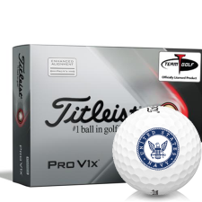 Titleist 2021 Pro V1x AIM US Navy Golf Balls