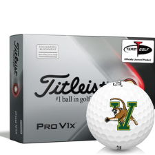 Titleist 2021 Pro V1x AIM Vermont Catamounts Golf Balls