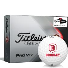 Titleist 2021 Pro V1x Bradley Braves Golf Balls