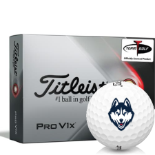 Titleist 2021 Pro V1x UConn Huskies Golf Balls