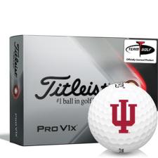 Titleist 2021 Pro V1x Indiana Hoosiers Golf Balls