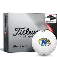 Titleist 2021 Pro V1x Kent State Golden Flashes Golf Balls