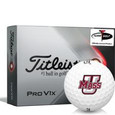 Titleist 2021 Pro V1x UMass Minutemen Golf Balls