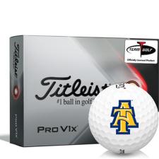 Titleist 2021 Pro V1x North Carolina A&T Aggies Golf Balls