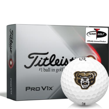 Titleist 2021 Pro V1x Oakland Golden Grizzlies Golf Balls