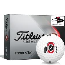 Titleist 2021 Pro V1x Ohio State Buckeyes Golf Balls