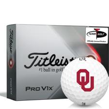 Titleist 2021 Pro V1x Oklahoma Sooners Golf Balls