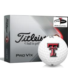 Titleist 2021 Pro V1x Texas Tech Red Raiders Golf Balls
