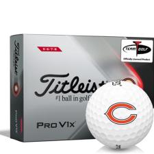 Titleist 2021 Pro V1x High Number Chicago Bears Golf Balls