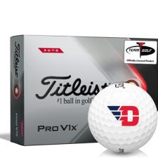 Titleist 2021 Pro V1x High Number Dayton Flyers Golf Balls