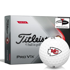 Titleist 2021 Pro V1x High Number Kansas City Chiefs Golf Balls