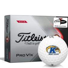 Titleist 2021 Pro V1x High Number Kent State Golden Flashes Golf Balls