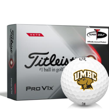 Titleist 2021 Pro V1x High Number Maryland Baltimore County Retrievers Golf Balls