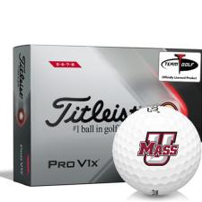 Titleist 2021 Pro V1x High Number UMass Minutemen Golf Balls