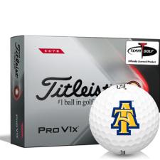 Titleist 2021 Pro V1x High Number North Carolina A&T Aggies Golf Balls