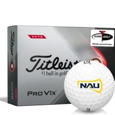 Titleist 2021 Pro V1x High Number Northern Arizona Lumberjacks Golf Balls