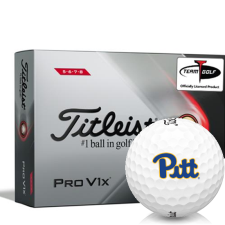 Titleist 2021 Pro V1x High Number Pittsburgh Panthers Golf Balls