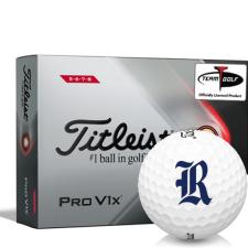 Titleist 2021 Pro V1x High Number Rice Owls Golf Balls