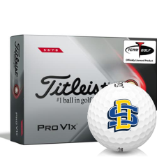 Titleist 2021 Pro V1x High Number South Dakota State Golf Balls