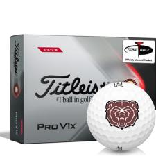Titleist 2021 Pro V1x High Number Southwest Missouri State Bears Golf Balls