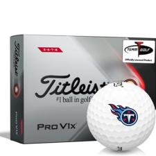 Titleist 2021 Pro V1x High Number Tennessee Titans Golf Balls