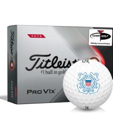 Titleist 2021 Pro V1x High Number US Coast Guard Golf Balls