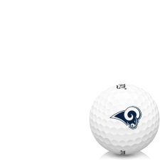 Titleist AVX Los Angeles Rams Golf Balls
