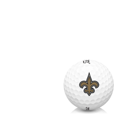 Titleist AVX New Orleans Saints Golf Balls