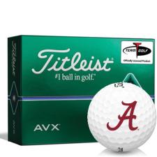 Titleist AVX Alabama Crimson Tide Golf Balls