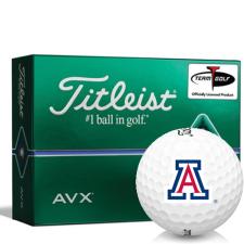 Titleist AVX Arizona Wildcats Golf Balls