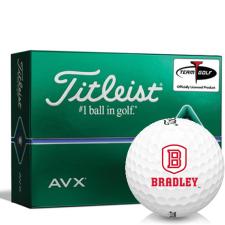 Titleist AVX Bradley Braves Golf Balls