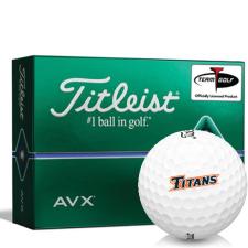 Titleist AVX Cal State Fullerton Titans Golf Balls