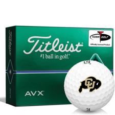 Titleist AVX Colorado Buffaloes Golf Balls