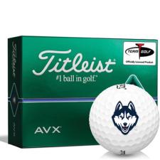 Titleist AVX UConn Huskies Golf Balls