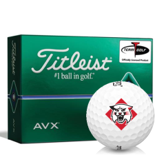 Titleist AVX Davidson Wildcats Golf Balls