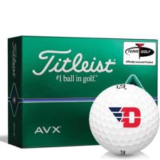 Titleist AVX Dayton Flyers Golf Balls