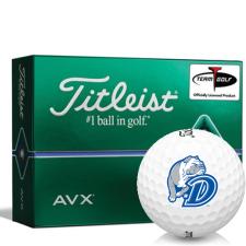 Titleist AVX Drake Bulldogs Golf Balls