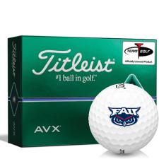 Titleist AVX Florida Atlantic Owls Golf Balls