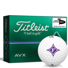 Titleist AVX Furman Paladins Golf Balls